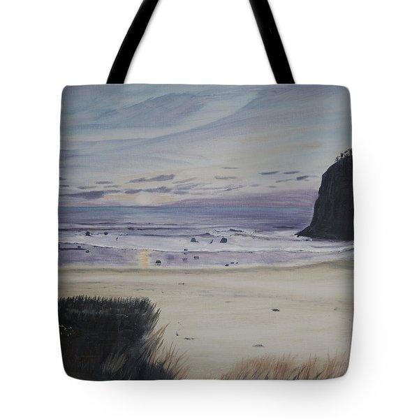 Oregon Coast Tote Bag by Ian Donley