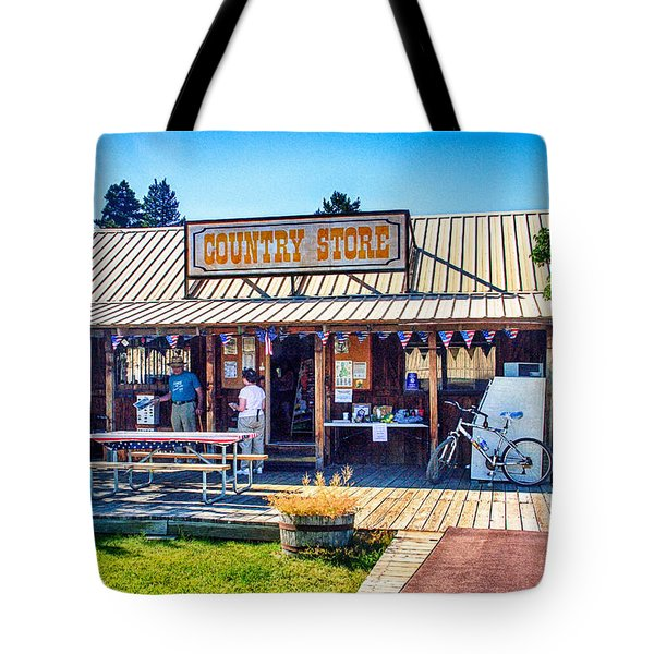 Oregon Country Store Tote Bag by Bob and Nadine Johnston