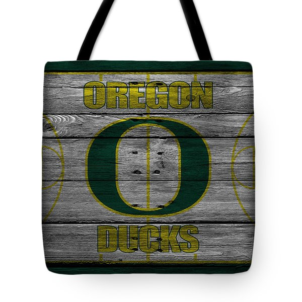 Oregon Ducks Tote Bag