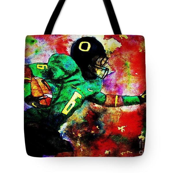 Oregon Football 3 Tote Bag