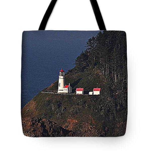 Oregon Lighthouse Tote Bag