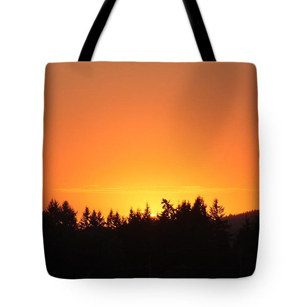 Tote Bag featuring the photograph Oregon Sunset by Melanie Lankford Photography