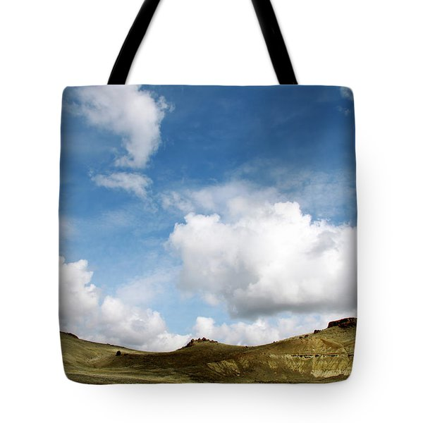 Oregon Trail Country Tote Bag by Ed  Riche
