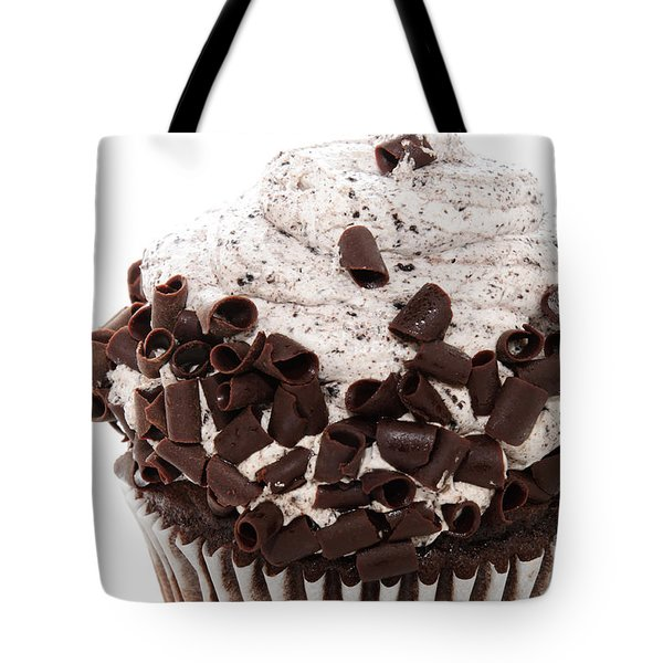 Oreo Cookie Cupcake 2 Tote Bag by Andee Design