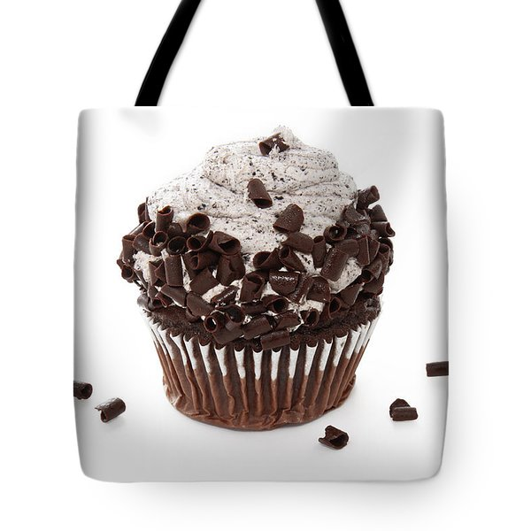 Oreo Cookie Cupcake Tote Bag by Andee Design