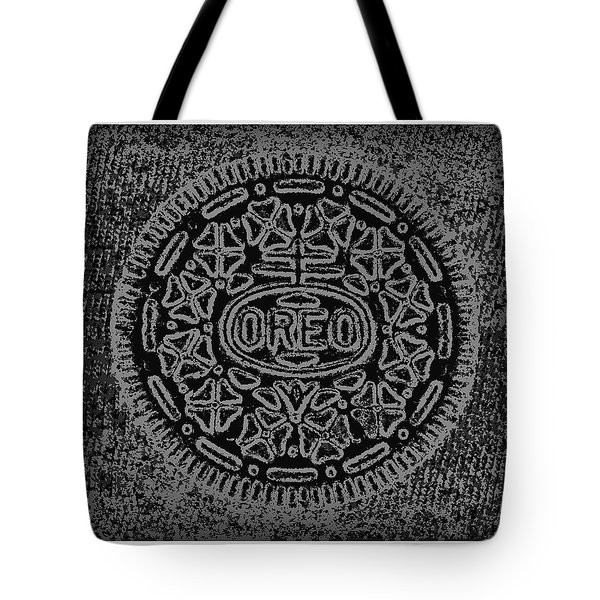 Oreo In Black And White Tote Bag
