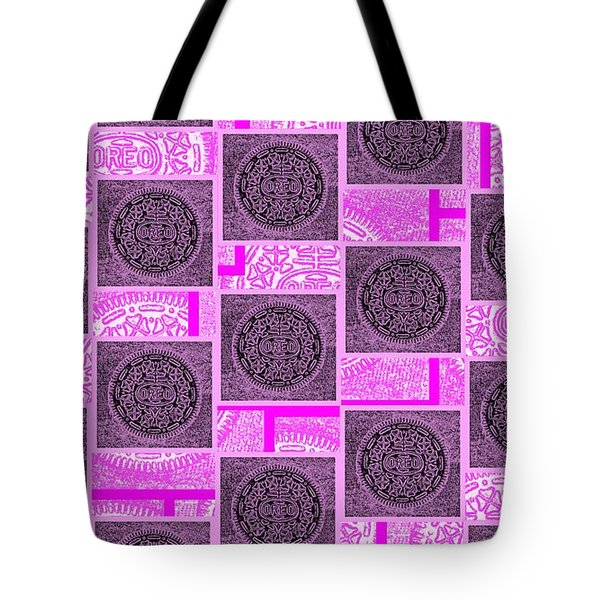 Oreo Pink Squares For The Cure Tote Bag