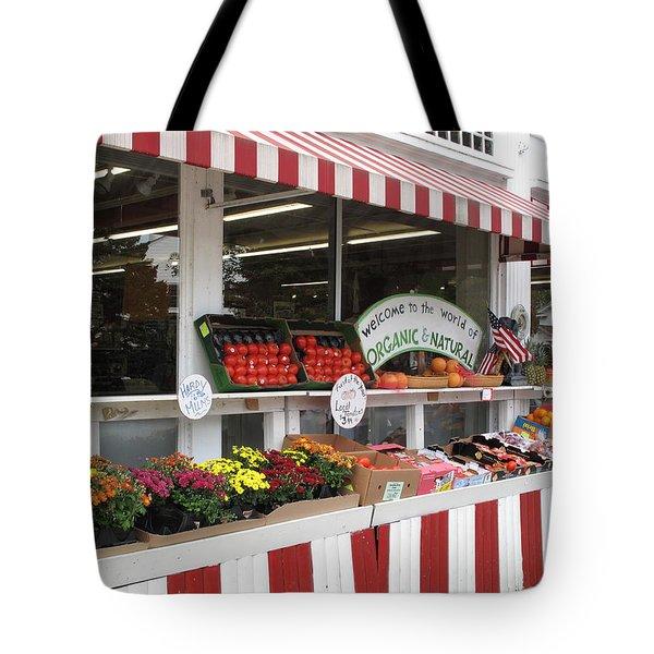 Organic And Natural Tote Bag