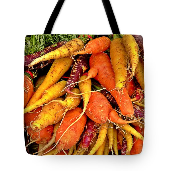 Organic Carrots Tote Bag