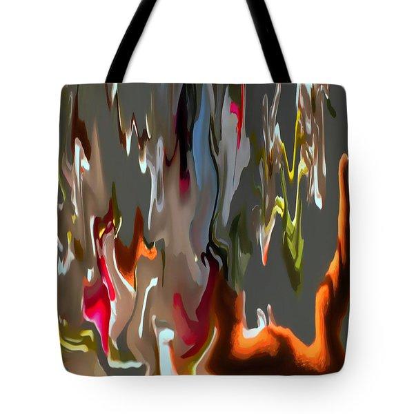 Organic Impressions 1 Tote Bag by Cedric Hampton