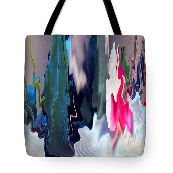 Organic Impressions 2 Tote Bag by Cedric Hampton