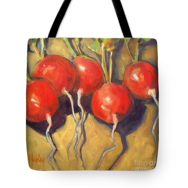 Organic Radishes Still Life Tote Bag