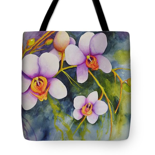 Orchids In My Garden Tote Bag