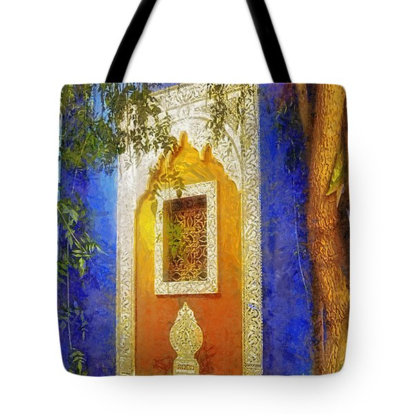 Oriental Mood Tote Bag by Mo T