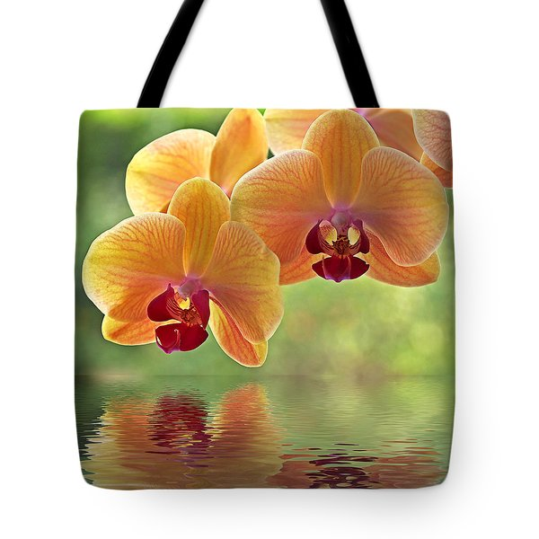 Oriental Spa - Square Tote Bag