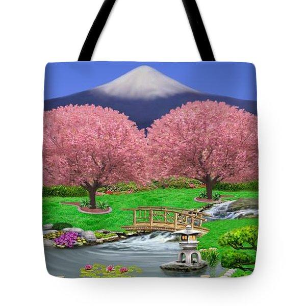 Oriental Splendor Tote Bag by Glenn Holbrook