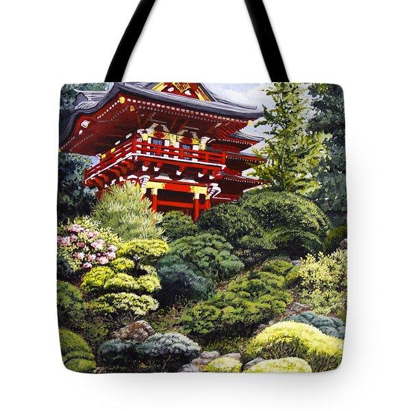 Oriental Treasure Tote Bag