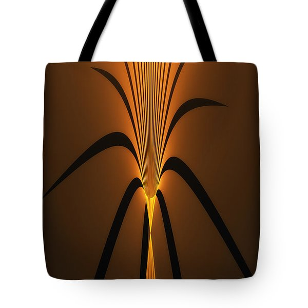 Oriental Vase Tote Bag by GJ Blackman