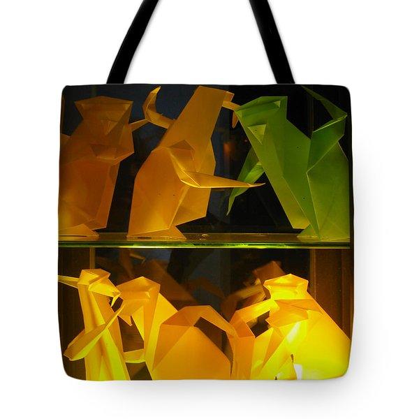 Origami Tote Bag by Leena Pekkalainen