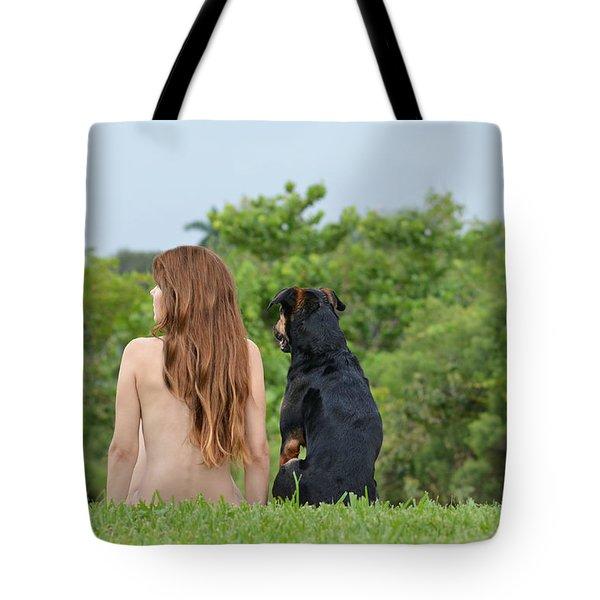 Origin Tote Bag by Laura Fasulo