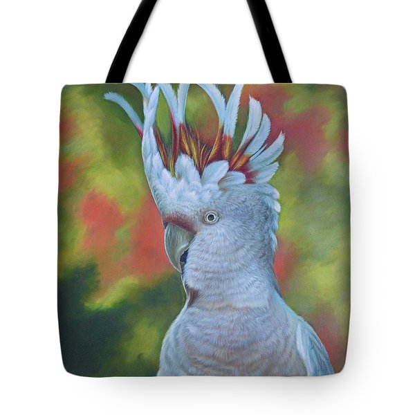 Original Animal Oil Painting Art -parrot #16-2-5-17 Tote Bag