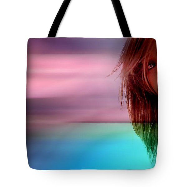 Original Jessica Alba Painting Tote Bag by Marvin Blaine