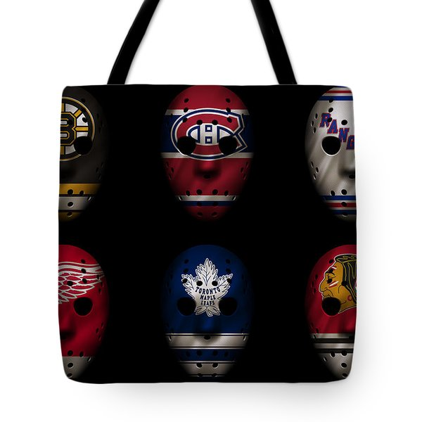 Original Six Jersey Mask Tote Bag