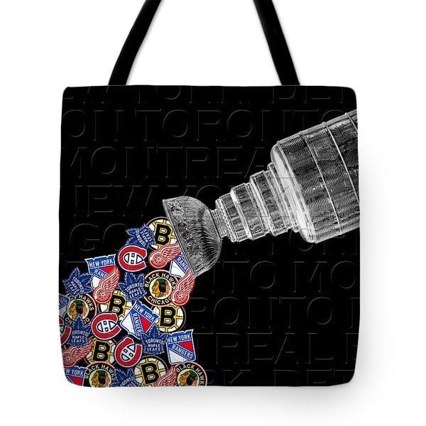 Original Six Stanley Cup 2 Tote Bag