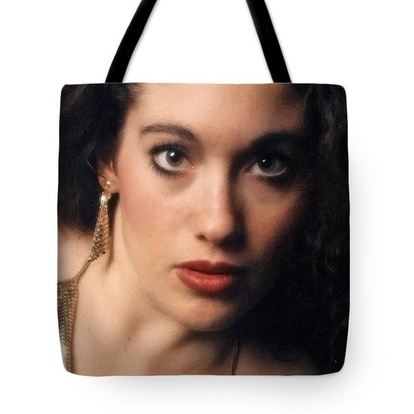 Original Used For Self Portrait  Tote Bag by Teri Schuster