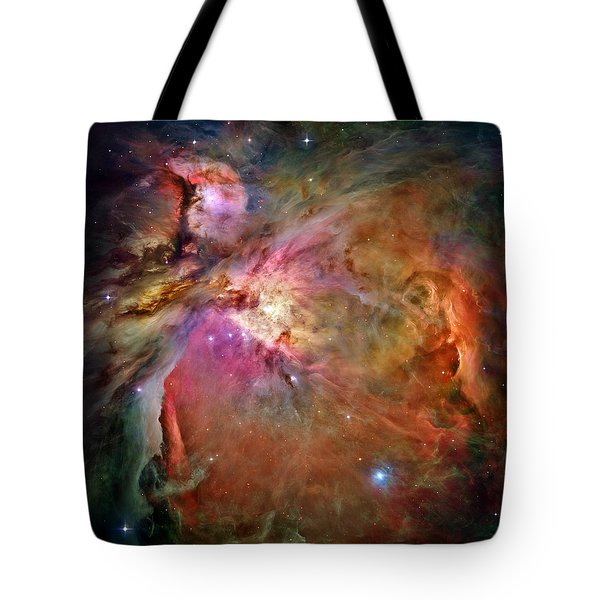 Orion Nebula Tote Bag by Benjamin Yeager