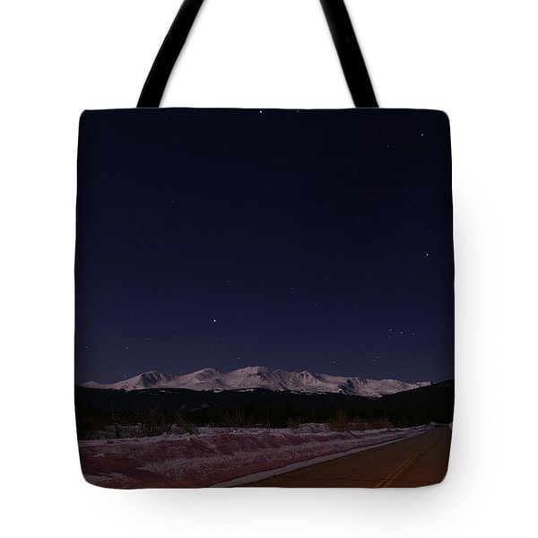 Orion's Descent Tote Bag by Jeremy Rhoades