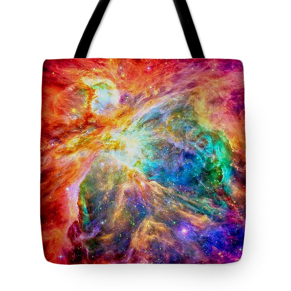 Orions Heart-where The Stars Are Born Tote Bag by Eti Reid