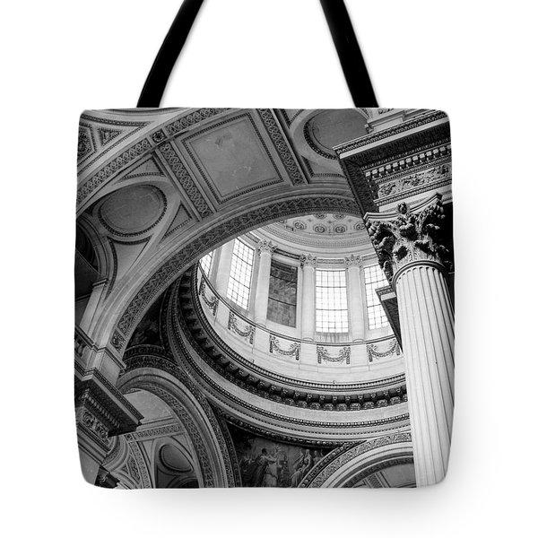 Ornate Curves Tote Bag by Jenny Hudson