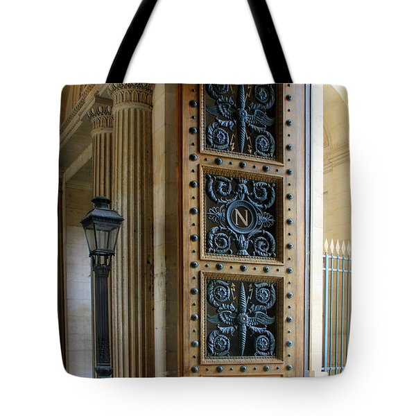 Ornate Door Tote Bag by Andrew Fare