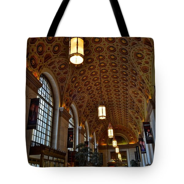 Ornate Entryway Tote Bag by Frozen in Time Fine Art Photography