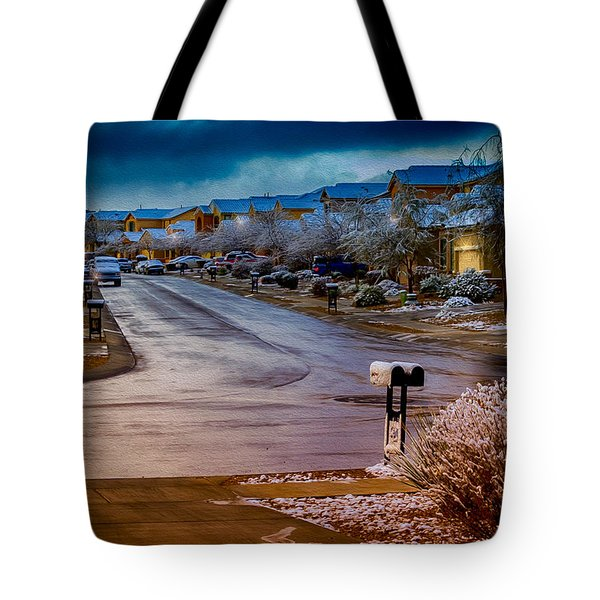 Oro Valley Winter No.54 Tote Bag