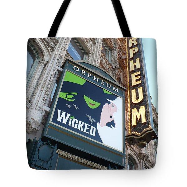 Orpheum Sign Tote Bag