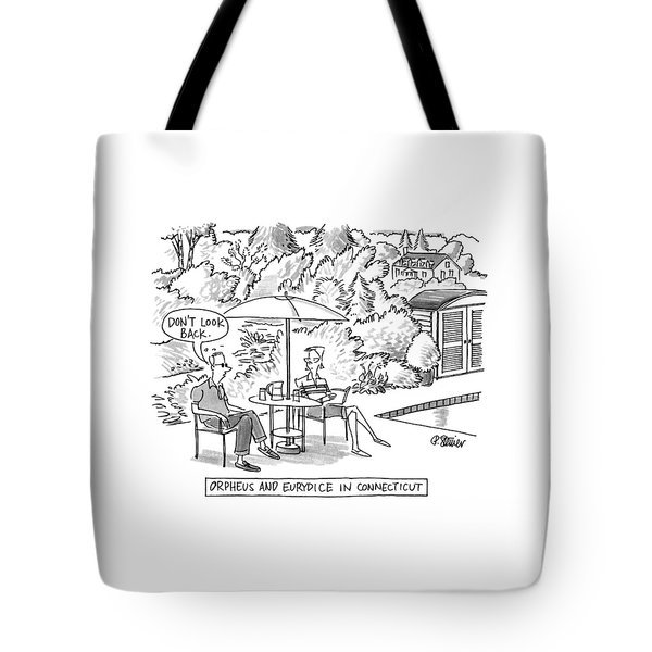 Orpheus And Eurydice In Connecticut Tote Bag