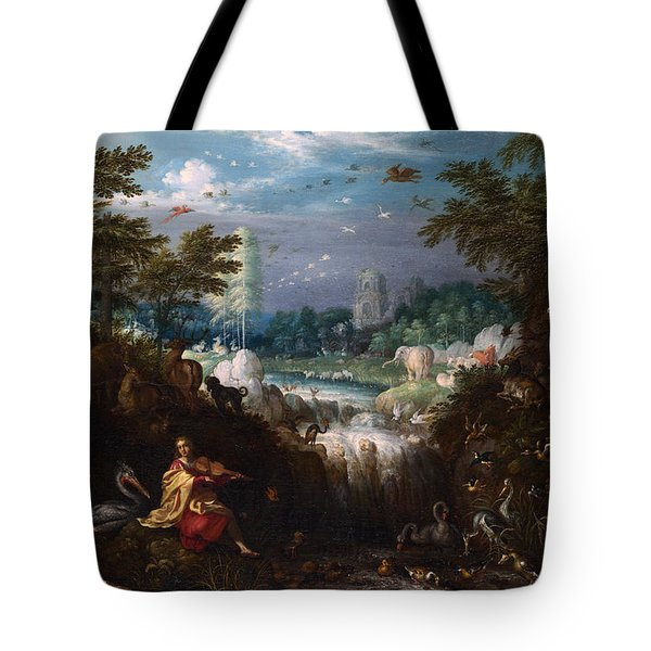 Orpheus Tote Bag by Roelant Savery