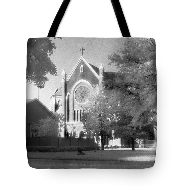 Cathedral Shrine Of The Virgin Of Guadalupe Tote Bag