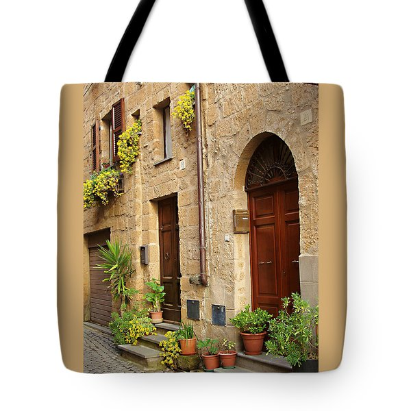 Orvieto Homes Tote Bag by Ellen Henneke