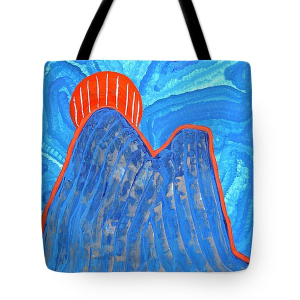 Os Dois Irmaos Original Painting Sold Tote Bag by Sol Luckman