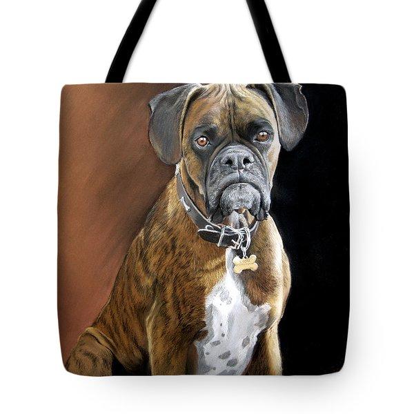 Oscar Tote Bag by Artist Karen Barton