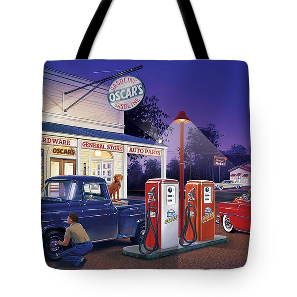 Oscar's General Store Tote Bag by Bruce Kaiser