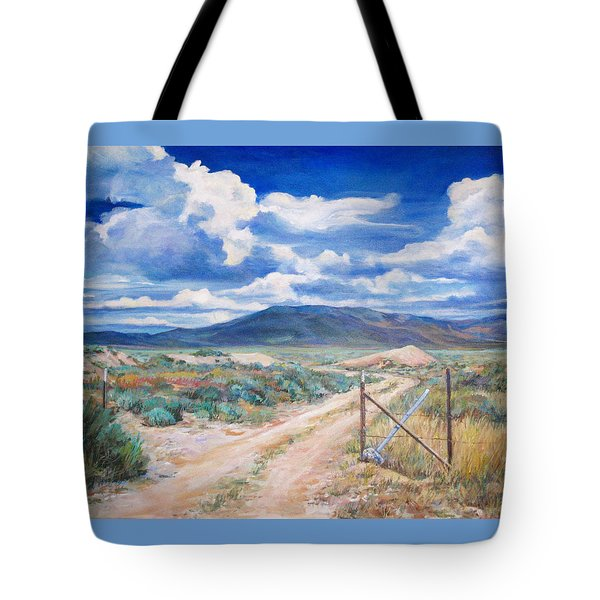 Osceola Nevada Ghost Town Tote Bag