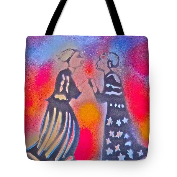 Oshun And Yemaya Tote Bag by Tony B Conscious