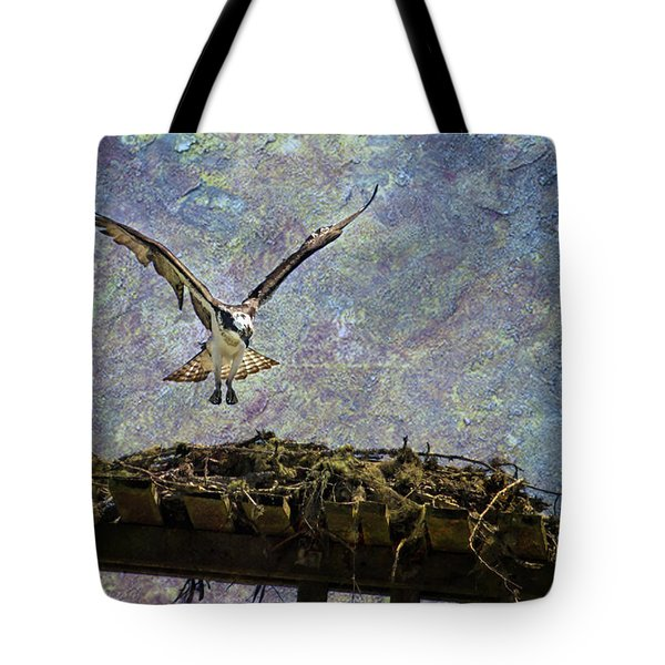 Osprey-coming Home Tote Bag