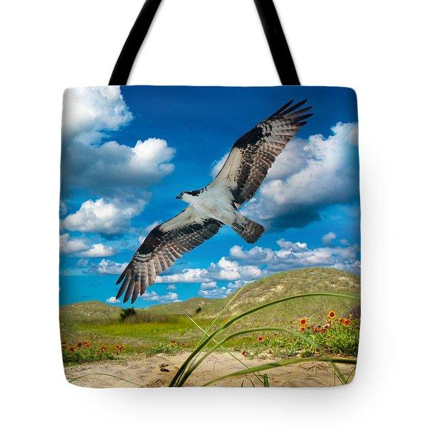Osprey On Shackleford Banks Tote Bag