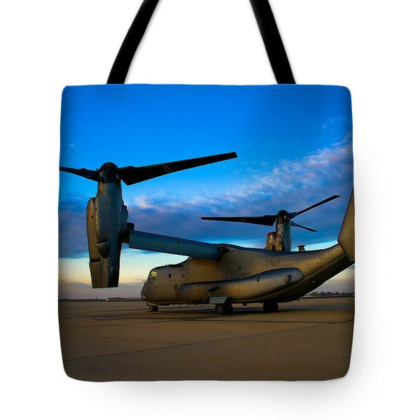 Osprey Sunrise Series 1 Of 4 Tote Bag