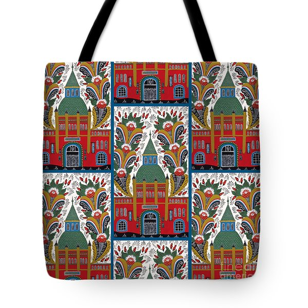 Ostermalm Saluhall  Tote Bag by Leif Sodergren